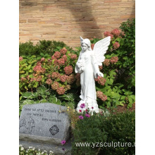 White Marble Life Size Angel Statue For Sale